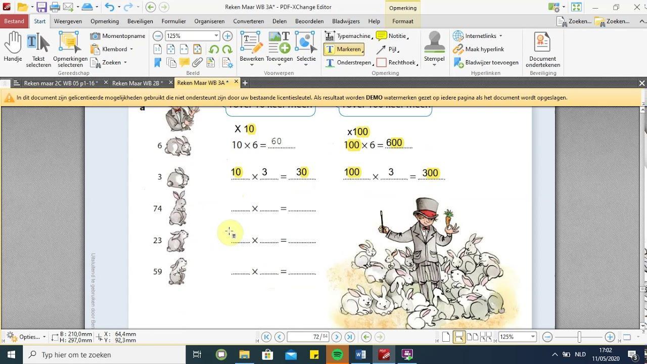 Wiskunde Werkbladen Vermenigvuldigen En Delen 3