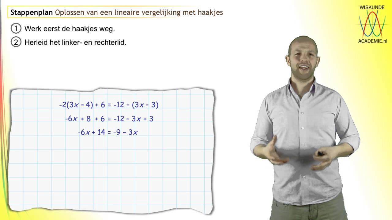 Wiskundige Werkbladen Lineaire Vergelijkingen 2