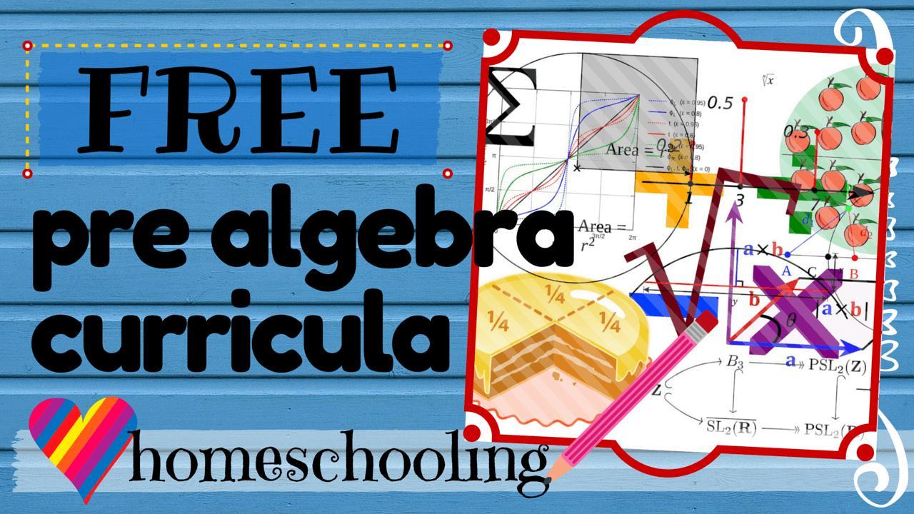 Algebra Homeschool Werkbladen 2