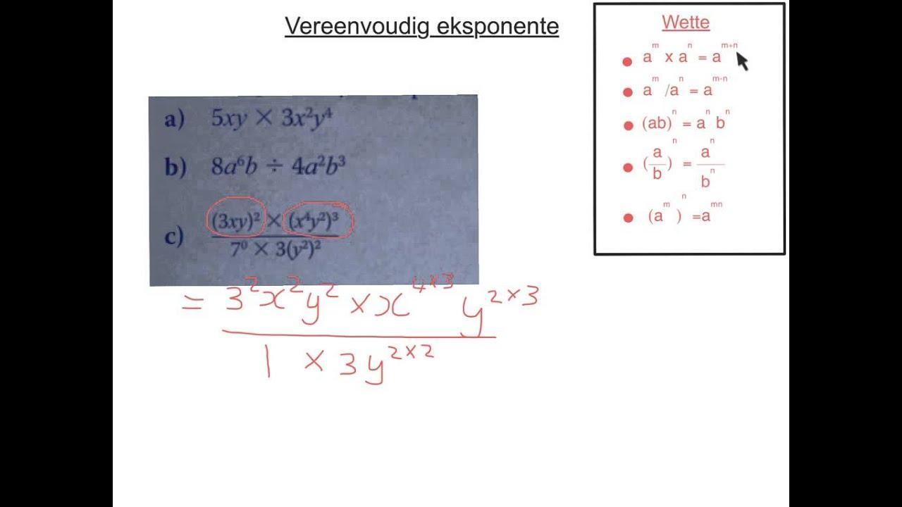 Algebra-werkbladen Voor Graad 5 9