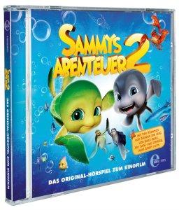 SAMMYS ABENTEUER 2 - Hoerspiel - Packshot 3D