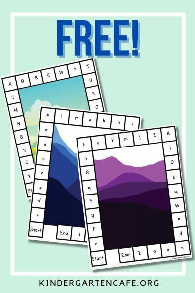 free alphabet game for kids