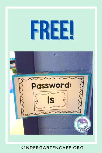 free high frequency word activity for kindergarten