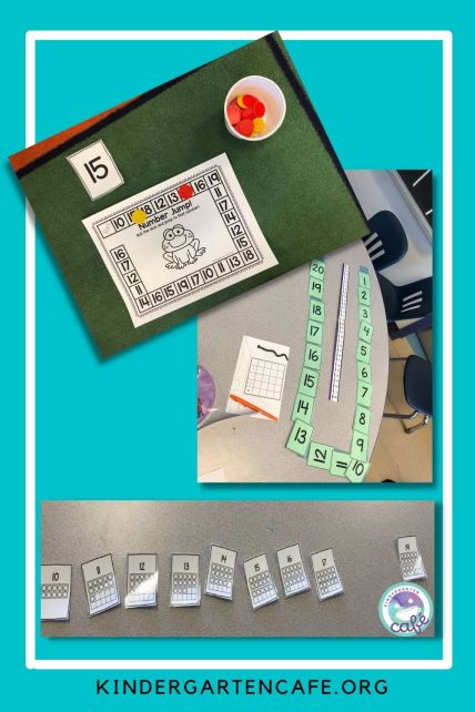math toolbox with counting cards