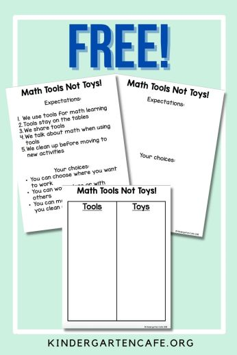 free math routine chart