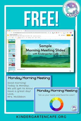digital morning meeting free