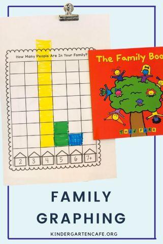family unit for kindergarten graphic activity