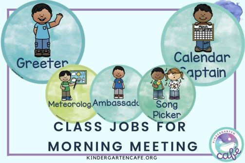 ideas for classroom jobs for morning meeting