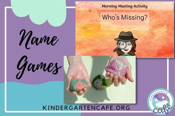 kindergarten name games