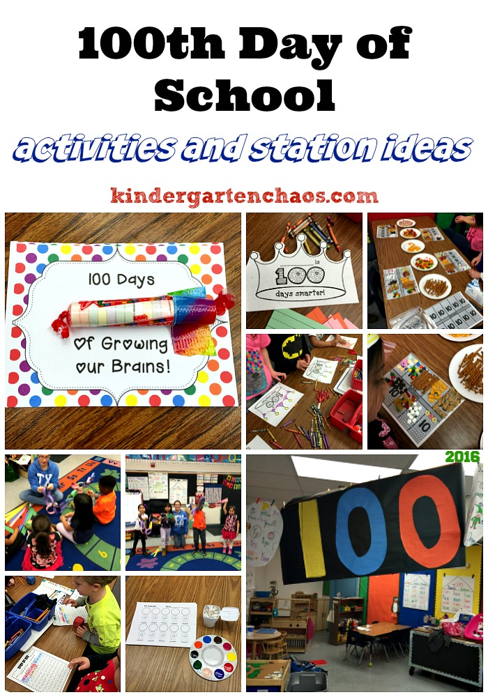 Download 100th Day of School Ideas for the Kindergarten Classroom