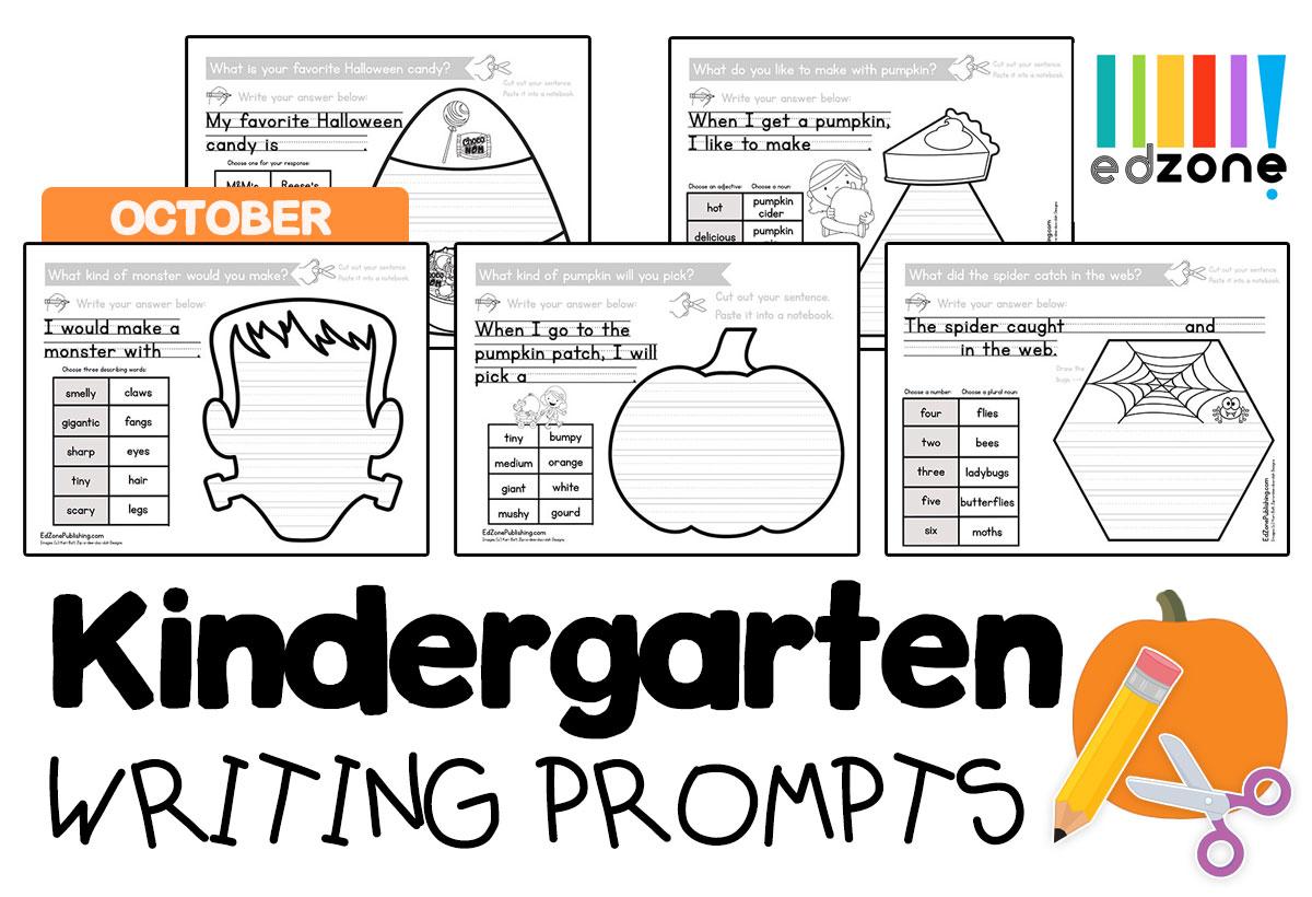 Kindergartenwritigpromptsoctober