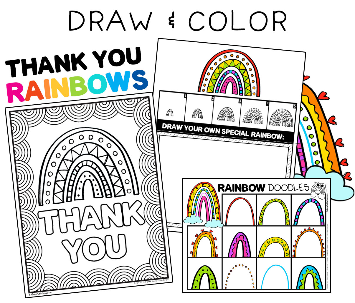 Drawcolorthankyourainbows