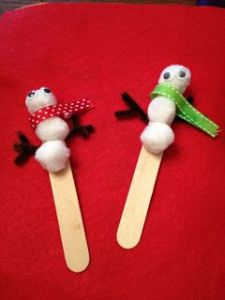 Snowman Puppets Image