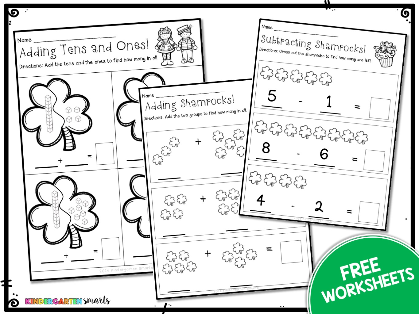 Free St Pats Worksheets