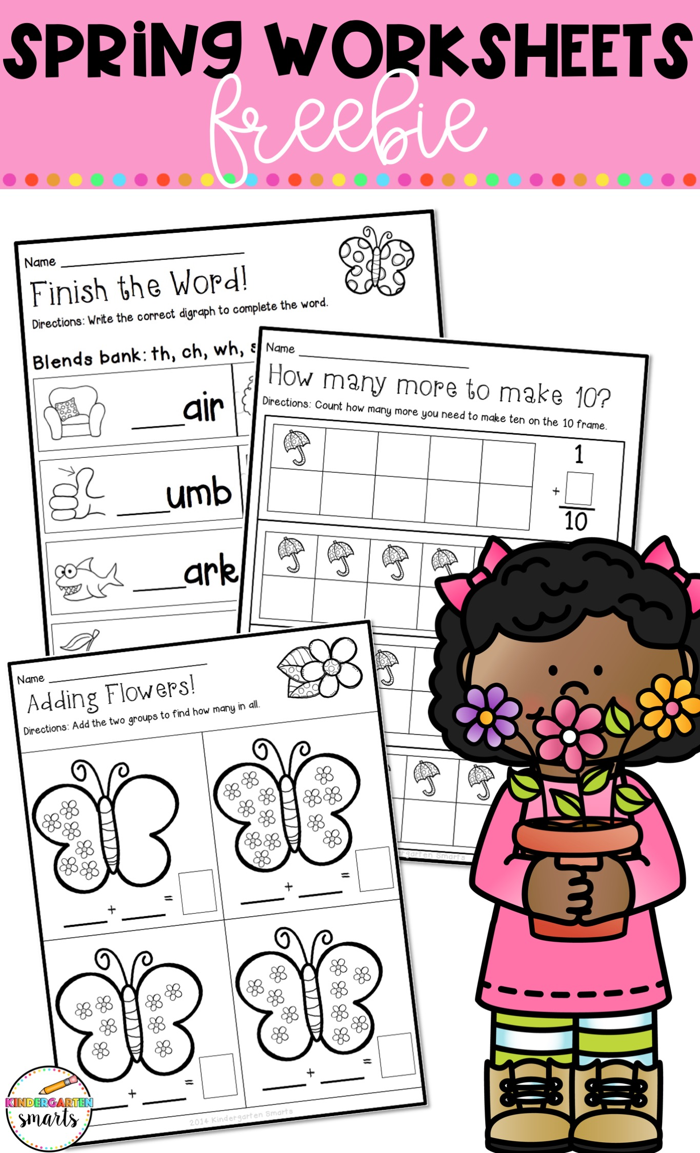 Spring Worksheets Freebie