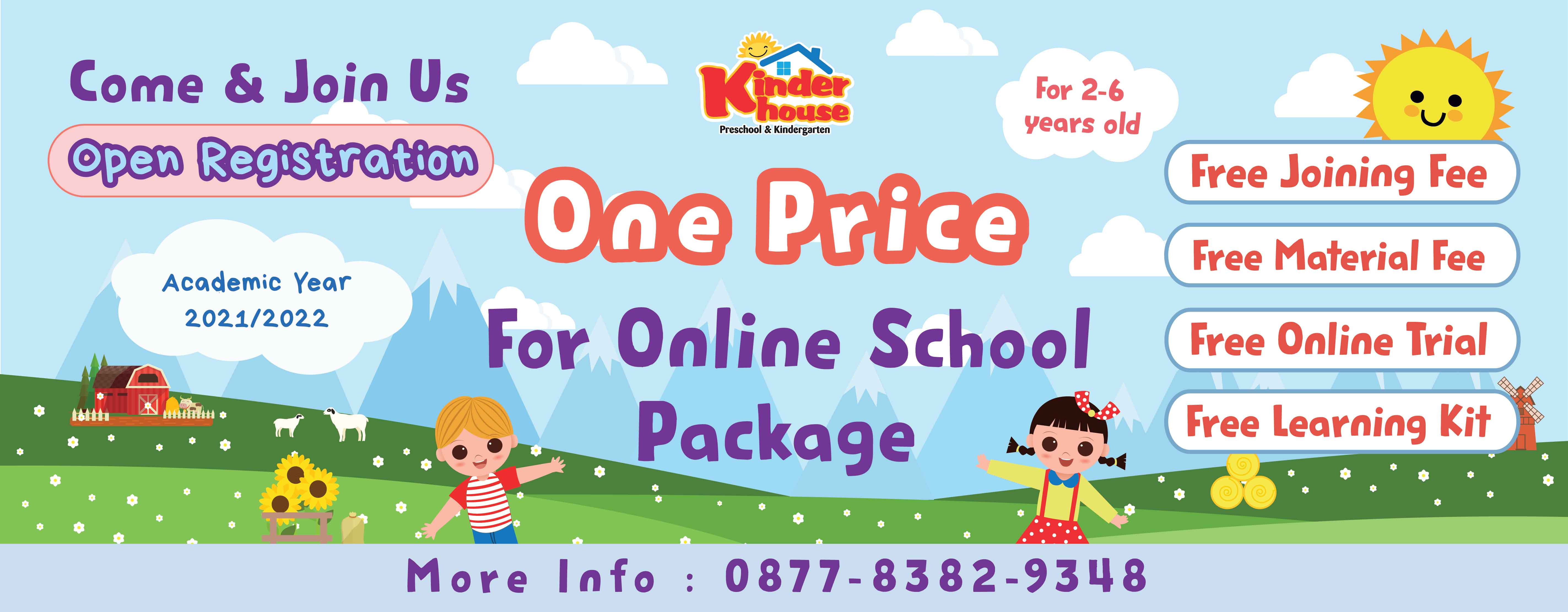 Web Banner One Price