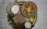 Zutaten Würstel mit Kartoffelbrei