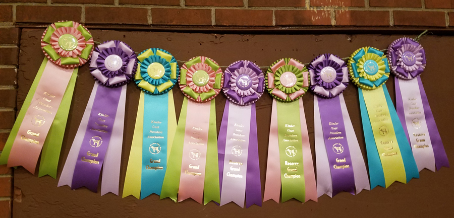 KGBA Show Ribbons