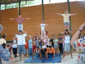 Workshop im Rahmen der KinderKulturKarawane 2007
