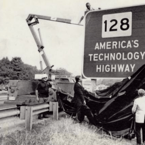128+Tech+Highway+sign