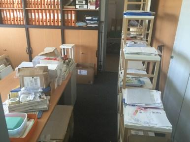 Chaos, Platzmangel und Unordnung herrschten eine Zeit lang in unserem Büro. Doch am Ende haben sich der Stress und die Mühen gelohnt