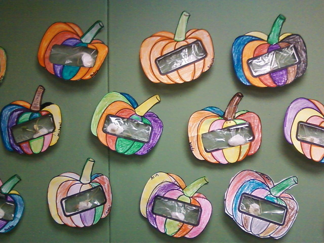 Pumpkin Science In Kindergarten