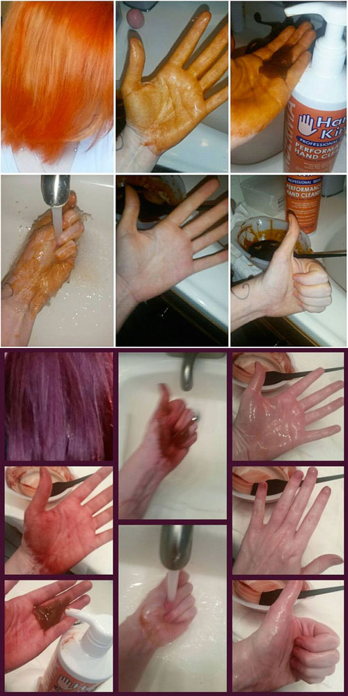 how to stop hair dye from staining my skin