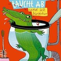 Nina Weger: Ein Krokodil taucht ab (und ich hinterher)