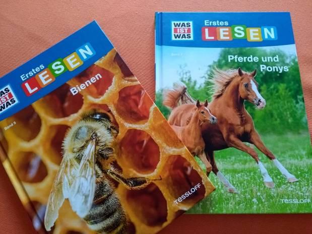 Was ist was: Erstes Lesen. Bienen/Pferde und Ponys