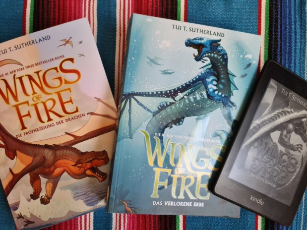Tui T. Sutherland: Wings of Fire 1 bis 5