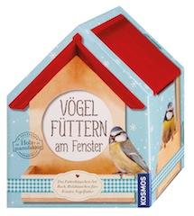 Ein Vogelhaus als Nikolausgeschenk: Bei Kosmos gibt es ein komplettes Set.  Foto (c) kosmos