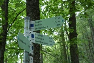 Unser Testgebiet für den Kinderrucksack von Osprey: Der Hohenwittlingensteig. Foto (c) kinderoutdoor.de