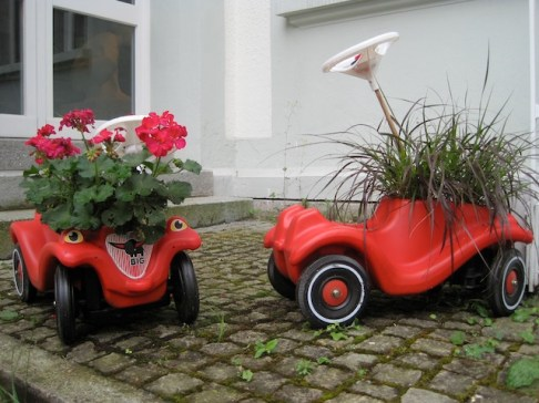 MIt wenigen Handgriffen habt Ihr richtig lässige Blumentöpfe. Foto (c) kinderoutdoor.de