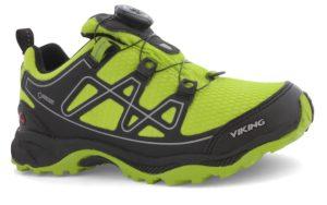Ein vielseitiger Kinderoutdoor Schuh ist der Viking Anaconda BOA IV JR mit der praktischen Boa-Disk. foto (c) vikingfootwear