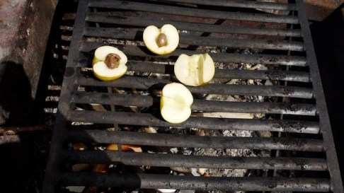 Nur Folienkartoffeln sind einfacher zu kochen: Die Schokoäpfel kommen als Nachspeise richtig gut an. foto (c) kinderoutdoor.de