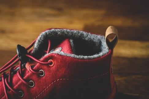 Barfuß gehen ist für Kinder im Winter weniger möglich, aber in den Wildling Eichhörnchen Kinderschuhen fühlen sich die Outdoorkids, als wenn sie keine Schuhe anhaben. foto (c) kinderoutdoor.de