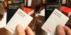 Combine KinderPerfect and Cards Against Humanity
