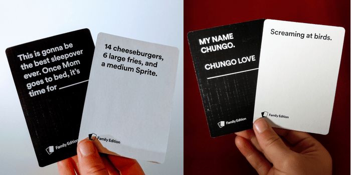 game review cards against humanity family edition
