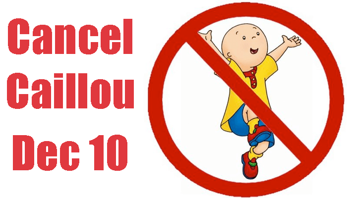 National cancel caillou day