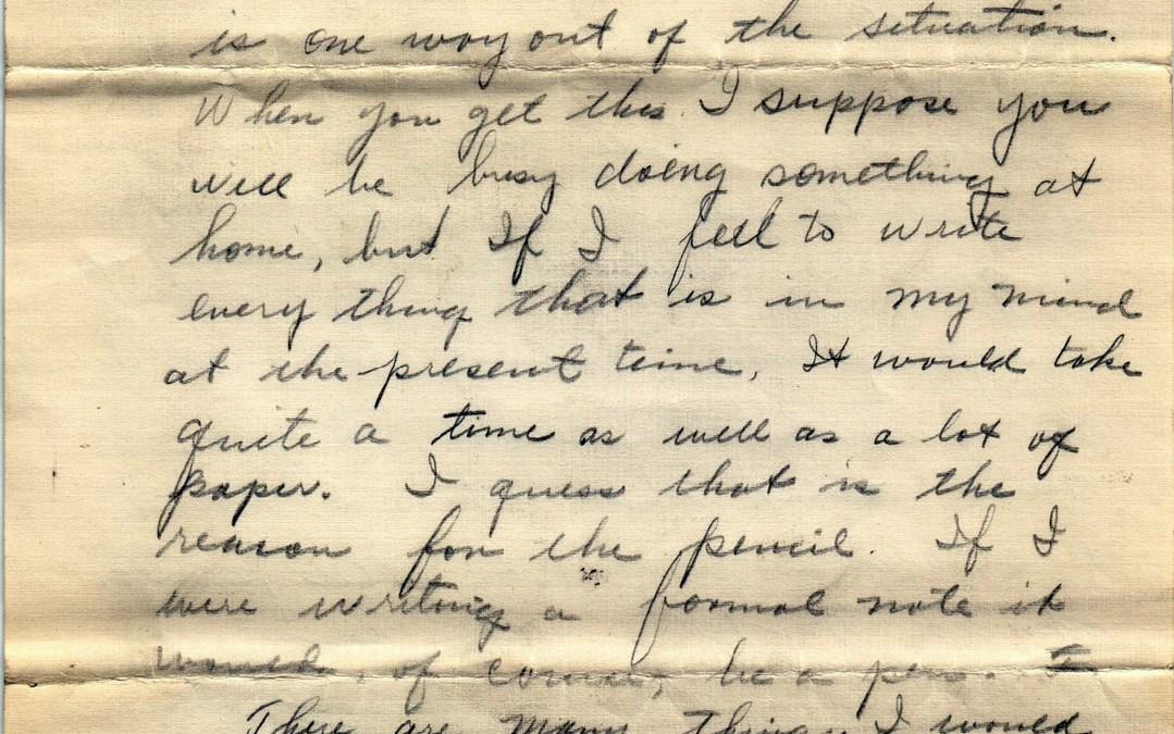 Ellsworth to Dorothy, 4 May 1932