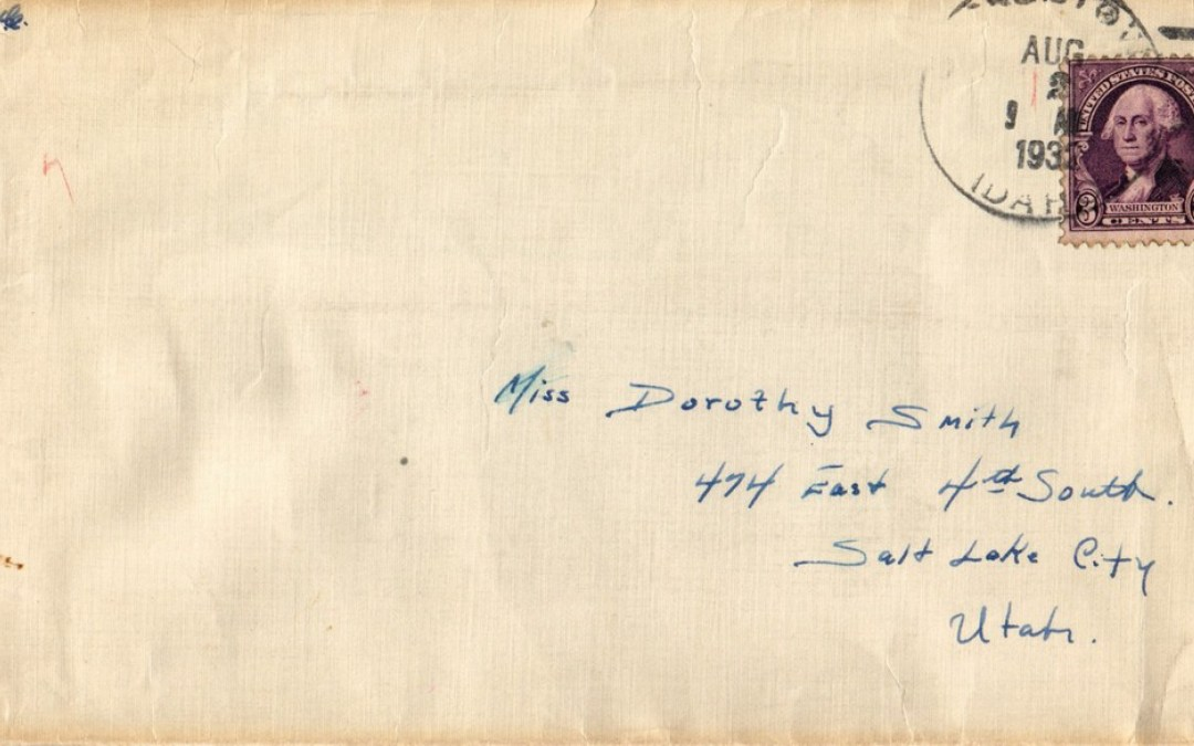 Ellsworth to Dorothy, 1 August 1932