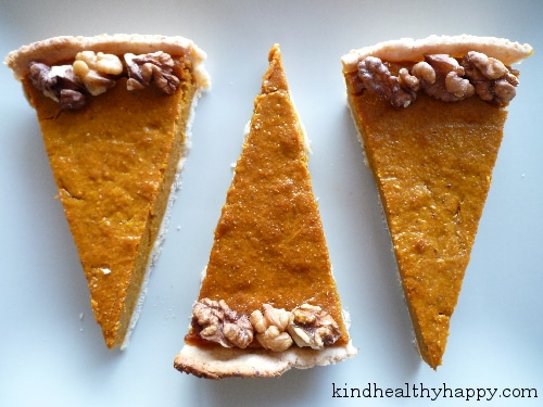 Pumpkin Pie Facile