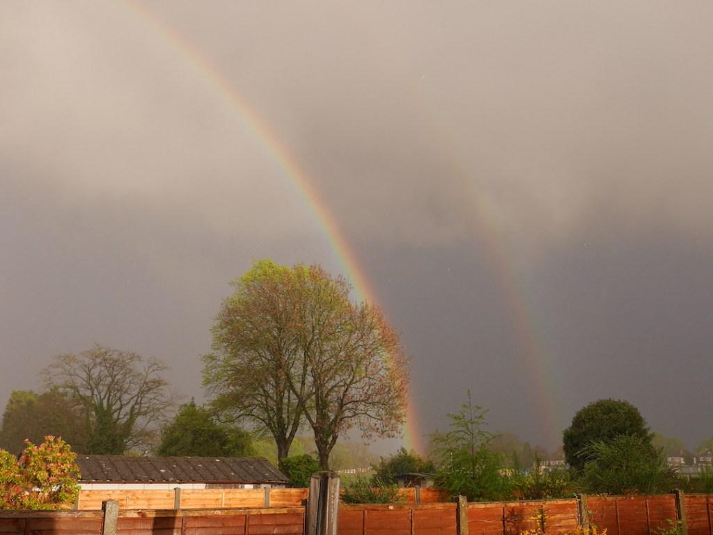 Six on Saturday rainbow