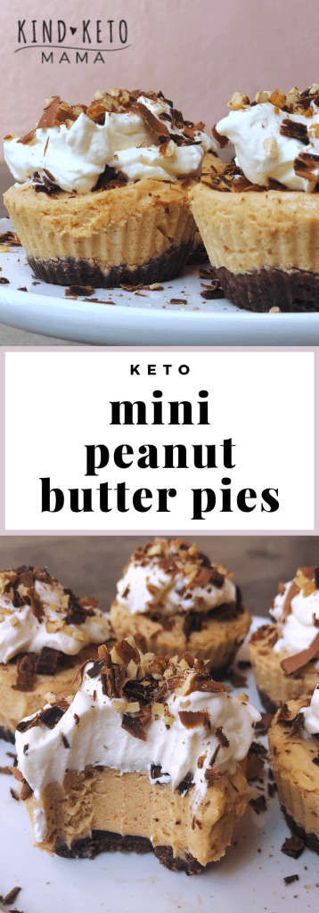 Mini Peanut Butter Pies