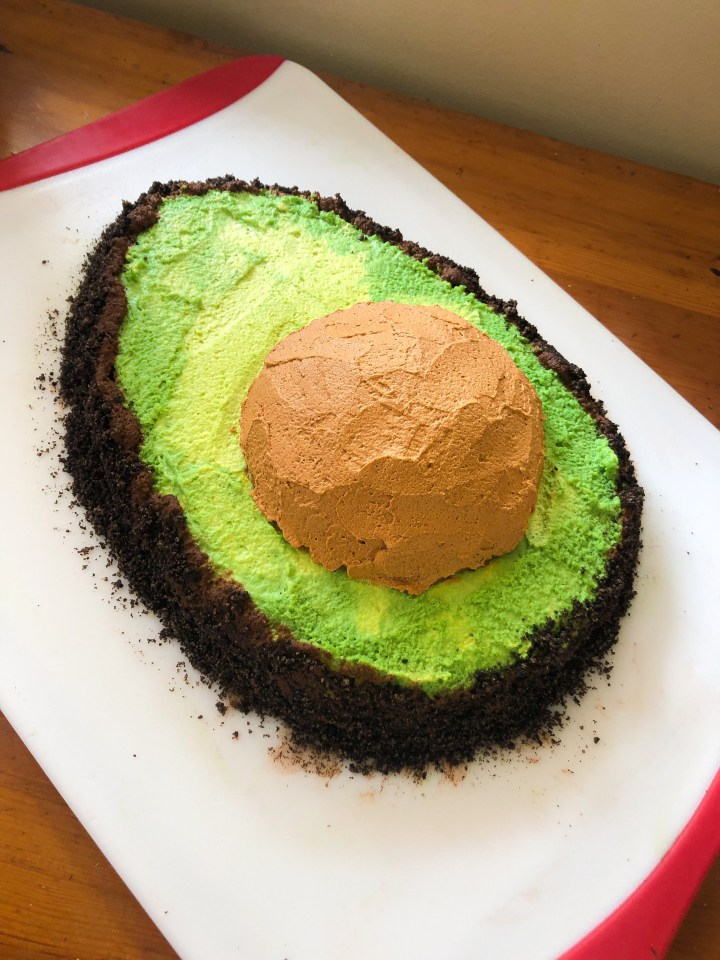 Avocado Cake Design