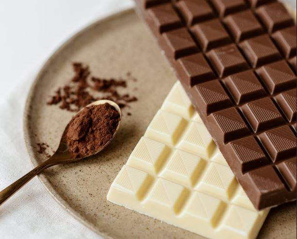 Does chocolate actually contain caffeine