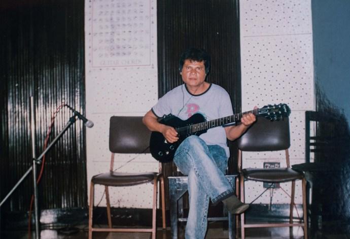 In Calcutta studio