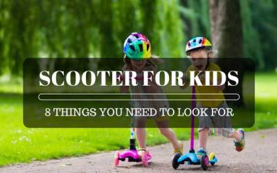 Best Scooter for Kids: 8 Things You Need to Look For!