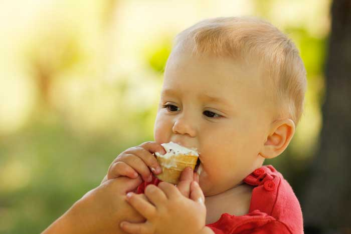 Introducing Ice Cream to Your Baby