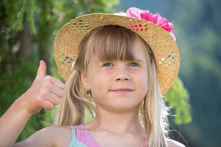 Thumb Up Girl